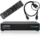 Anadol Multibox 4K UHD E2 Linux Combo Sat- Kabel- DVB-T2 Receiver mit DVB-S2 und DVB-C/T2 Tuner,...