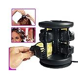 Zlynz Lockenwickler Solid Ceramic 8 Shell Form Multi-Funktion Nicht Verletzt Haar Sicherheit...