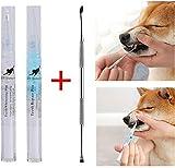 MON Haustier Zahnreinigung Kit, Hund Katze Zahnsteinentferner, Hund Zahnstein Zahnstein...