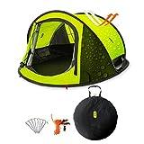 Zenph Pop Up Zelt, Automatisches Outdoor-Zelt für 2-3 Personen Schnellöffnungs Wurfzelt mit...