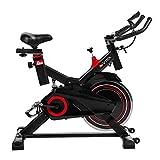 AsVIVA Indoorcycle Speedbike S11 mit 18kg Schwungmasse schwarz, inkl. Fitnesscomputer,...