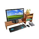 QuRRong Monitorstnder Laptop Mehrschichtige TV-Monitor Hubtisch Lagergestell Monitorstnder...
