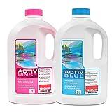 Set Thetford Activ Blue & Aktiv Rinse Toiletten Zusatz je 2 Liter, wahlweise mit Toilettenpapier...
