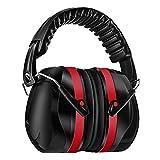 Homitt Gehörschutz Ohrenschützer mit 34dB SNR, lärmschutzkopfhörer erwachsene mit Tragbare...