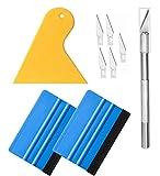 Tapeten-Kit Tapetenwerkzeuge Set mit Trimmwerkzeug, Vinylfolie Werkzeugset Tapetenwerkzeug mit...