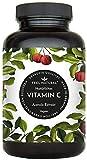 Acerola Kapseln - Natürliches Vitamin C - 180 vegane Kapseln im 6 Monatsvorrat - Ohne unerwünschte...