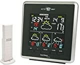 Technoline WD 4026 Wetterdirekt - Wetterstation mit LED-Anzeige,Innen und Außentemperaturanzeige,...