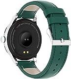 DHTOMC Smartwatch-Sportarmband für Damen, Bluetooth, Fitness-Tracker/Monitor/Schlaf-Tracker, Grench