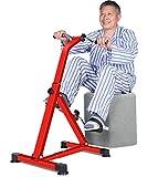 Asnails Faltbares Fußpedal-Trainingsgerät - Hand, Arm, Beinübungspedalmaschine, Fitness Reha...