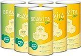 BEAVITA Vitalkost Plus - 6x 572g Zitrone Joghurt Mix - lecker Diät-Shake für unbeschwertes...