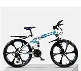 Faltendes Mountainbike, Fahrrad-Erwachsener Ultra-Licht, Doppelter Schlagschock Off-Road,...