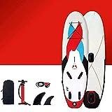 NBVCX Outdoor Utensils Aufblasbares Windsurfing Set Surfbrett;Windsurfen;Paddle Board Stand Up...