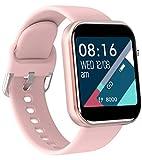 Damen Herren Smartwatch Fitness Tacker Sport Uhr Pulsmesser Schlafmonitor Kalorienzähler Blutdruck...