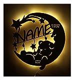 Led Lampe personalisiert Babygeschenk Sweet Dream Taufgeschenke Geschenke zur Geburt Kommunion Taufe...