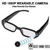 PUKEFNU Sonnenbrille-Kamera-HD 1080P Kamera Spion-Kamera Bluetooth Headset Mini-Videorecorder-Kamera...