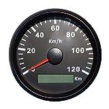 ELING GPS Tachometer Geschwindigkeitsmesser 120KM/H für Auto Motorrad Boot Yacht mit...