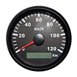 ELING GPS Tachometer Geschwindigkeitsmesser 120KM / H für Auto Motorrad Boot Yacht mit...