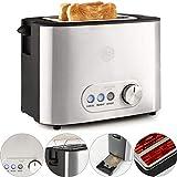 Balter Toaster 2 Scheiben  Brötchenaufsatz  Auftaufunktion  Brotzentrierung  Krümelschublade...