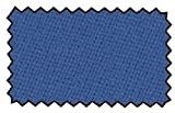 Billardtuch Tournament -blau- Coupon fr 7 ft Tisch inkl. Sprhkleber