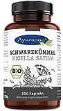 Ayursana - Vegane Bio Schwarzkümmel Kapseln (500 Stück)