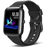 Lintelek Smartwatch Fitness Armband mit Pulsuhr 1,3 Zoll Touchscreen Fitness Uhr Wasserdicht 5ATM...