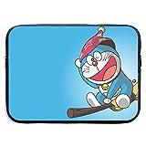 Hdadwy Wasserfeste Laptoptaschen Flying Doraemon Ultrabook Aktentasche Hüllenetaschen 13 Zoll