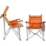 无 Klappbarer Campingstuhl, Rückenlehnenstuhl im Freien, tragbarer Angelreisesitz, mit...
