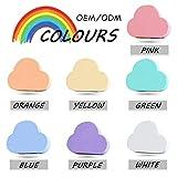 Natürliche Qualität Regenbogen-Seife Badesalz Bombenanschlag Wolken Rainbow Rainbow Furz Schaumbad...