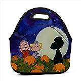 LIUYAN Lunch Tote Great Pumpkin Snoopy School Lunchbox für Kinder Jungen Herren Damen Mädchen