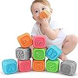 Baby Spielzeug ab 0 3 6 12 Monate , Weiche Baby Bausteine fr Kleinkinder, Spielzeug fr Kinder...
