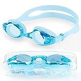ORLEGOL Kinder Schwimmbrille, Schwimmbrillen für Kinder, Anti Nebel UV-Schutz kein Leck...