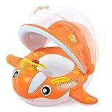 Peradix Baby Schwimmring Aufblasbares Kinderboot Beach Summer Hingucker für Wasserspaß...