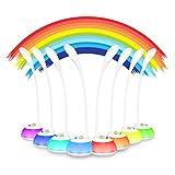 VicTsing LED Schreibtischlampe 5W Dimmbar für Kinder, mit Stimmungslicht und Touch-Steuerung, 3...