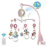 Mini Tudou Baby Musik Crib Mobile Babybett mit Timing-Funktion Projektor und Lichtern, hängenden...