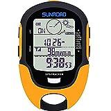Sunroad GPS Digital Wasserdicht Outdoor Höhen Vorwarnung Erinnerung Kompass Stoppuhr Sport...