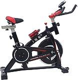 ISE Indoor Cycle Ergometer Heimtrainer mit LCD Anzeige,Armauflage,Puls&gepolsterte,8kg...