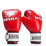 ERSD Boxhandschuhe Sanda Kampf Kampf Boxhandschuhe Schlagen Boxsack Boxhandschuhe (Farbe : ROT, Size...