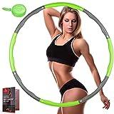 arteesol Hula-Reifen-Hoop Erwachsene, Fitness Reifen mit Mini-Maßband, Abnehmbarer Fitnesskreis mit...