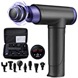 Massagepistole,Massage Gun Muskelmassagegerät Deep Percussion 22 Geschwindigkeiten mit LCD...