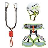 Climbing Technology Junior Eclipse-Classic-k Slider-Ascent, Kit Ferrata Unisex Kinder, Farben...