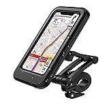 Paddsun Handyhalterung Fahrrad Wasserdicht IPX6 Handyhalter Motorrad mit Touch-Screen, Smartphone...