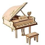 W&HH 3D Holzpuzzle, DIY 3D Laserschneiden Holz Flügel Puzzle, Spielgeschenk Für Kinder Kinder,...