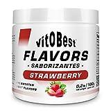 Erdbeergeschmack 100 gr - Lebensmittel und Nahrungsergänzungssportergänzungen - VITOBEST
