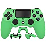 Wireless Controller, USB Controller für PC PS4 Slim/PS4 Pro, Bluetooth Remote Joypad Gamepad, mit...