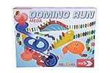 Noris 606065647 Domino Run Mega-Aktionsspiel für Die ganze Familie-Spielzeug ab 3 Jahre