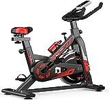 CLJ Indoor-Radfahren, Heim-Fitnessgerät, verstellbar, ultra-leise, Heimtrainer, Aerobic-Übung