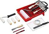 Werkzeyt Renovierungs-Set 17-teilig - Umfangreiche Werkzeuge & Hilfsmittel zum Renovieren &...