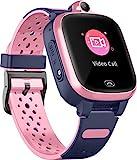 4G Smart Watch für Kinder - GPS-Smartwatch mit Wasserdichter Echtzeit-Position...