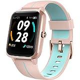 Lintelek Smartwatch 1,3 Zoll Touch Farbdisplay Screen mit GPS 5ATM Wasserdicht Smart Watch mit...