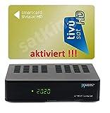 Set: TIVUSAT HD GOLK Karte AKTIVIERT + 4K UHD Combo Receiver - Italienisch Tivusat Sender...